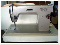 JUKI職業用ミシンTL-82 ポータブルタイプ