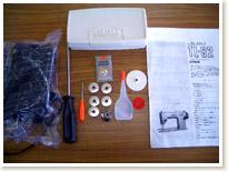 JUKI職業用ミシンTL-82 モーターテーブルタイプ