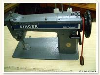 SINGER職業用ミシン 188Professional 足踏みテーブルタイプ