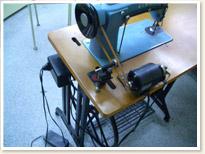 SINGER職業用ミシン188U Blue Championモーターテーブルタイプ
