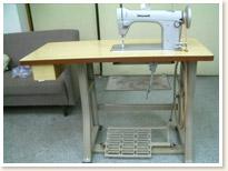 JANOME 職業用ミシン 766 足踏みテーブルタイプ