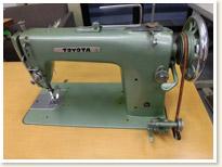 TOYOTA 1本針本縫い職業用ミシン T101型  足踏みテーブルタイプ