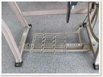 名機 SINGER 1本針本縫い職業用ミシン 188Professional 足踏みテーブルタイプ