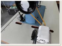 名機 SINGER 1本針本縫い職業用ミシン 188 Blue Championモーターテーブルタイプ