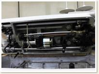 BROTHER 1本針本縫い工業用ミシン DB2-B737-313 モーターテーブルタイプ