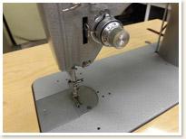 JANOME 1本針本縫い職業用ミシン 766 足踏みテーブルタイプ