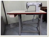 名機 JUKI 1本針本縫い職業用ミシン TL-82 モーターテーブルタイプ